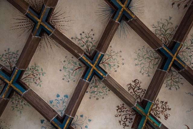 Decke des Parlatoriums im Kloster Maulbronn