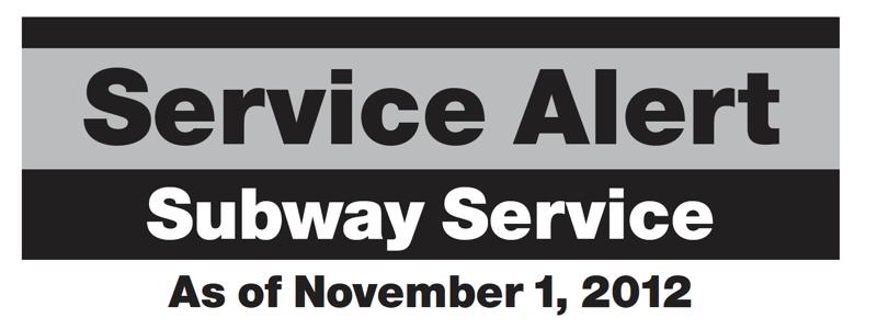 Subway Update 1