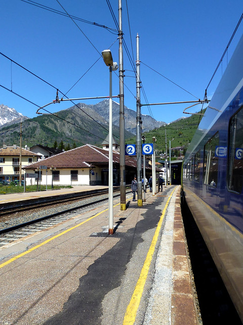 Florence - jour 1 - 008 - Gare de Bardonecchia