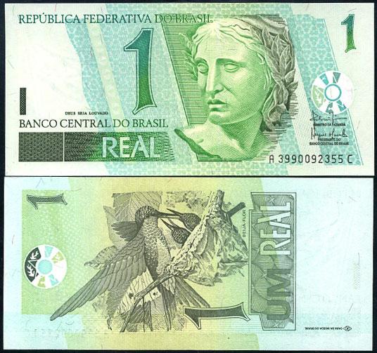 1 Real Brazília 2003, Pick 251