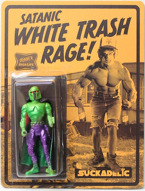 White Trash Rage by Skinner x Suckadelic Edition of 50 $100 each