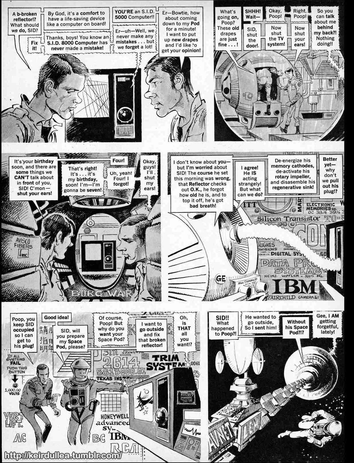"""Keir Dullea YEAH!!! - """"201 Minutes of Space Idiocy"""" A Mad Magazine ..."""
