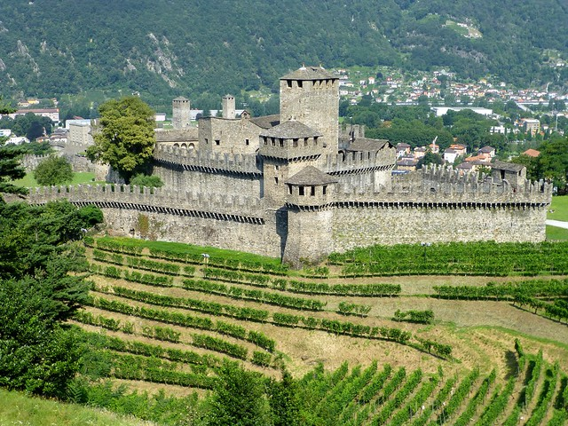 Castello di Montebello, Bellinzona,  Switzerland  (UNESCO WHS)