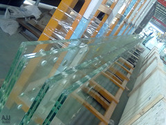 Low iron Oversized Laminated Glass