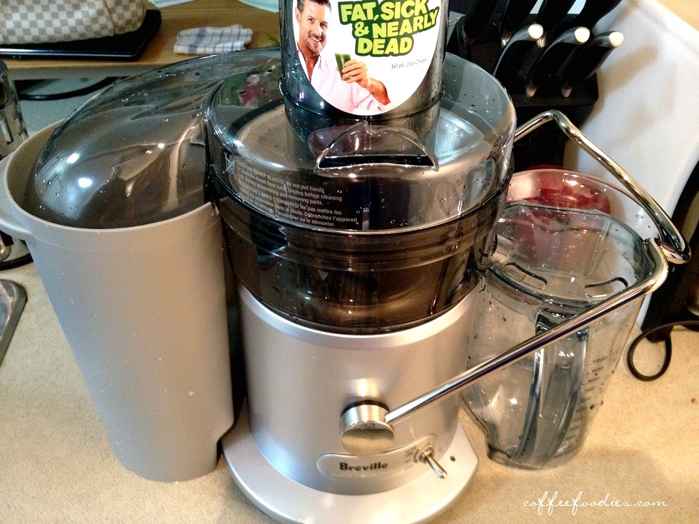 Raw food juicer machine