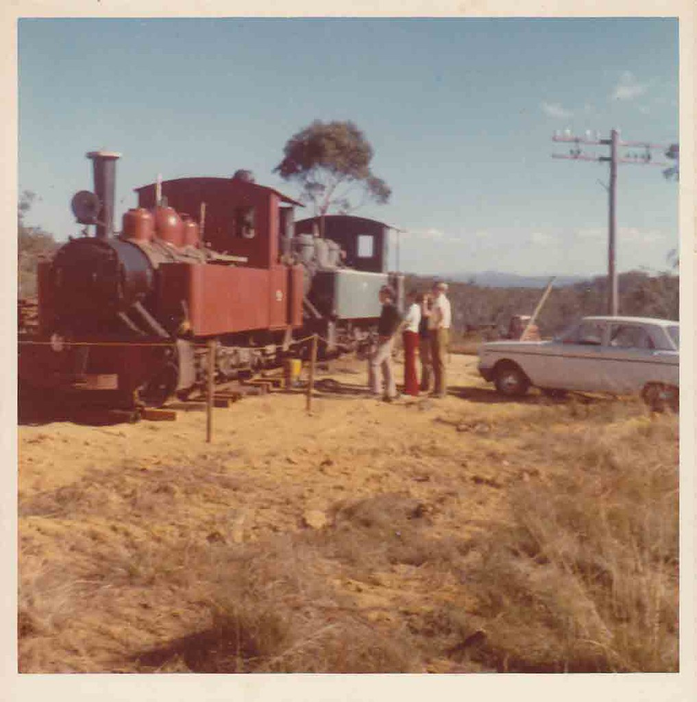Mystery locomotives,  Megalong Valley by John Cowper