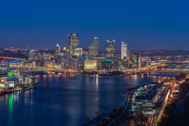 Pittsburgh Skyline  Flickr Photo Sharing