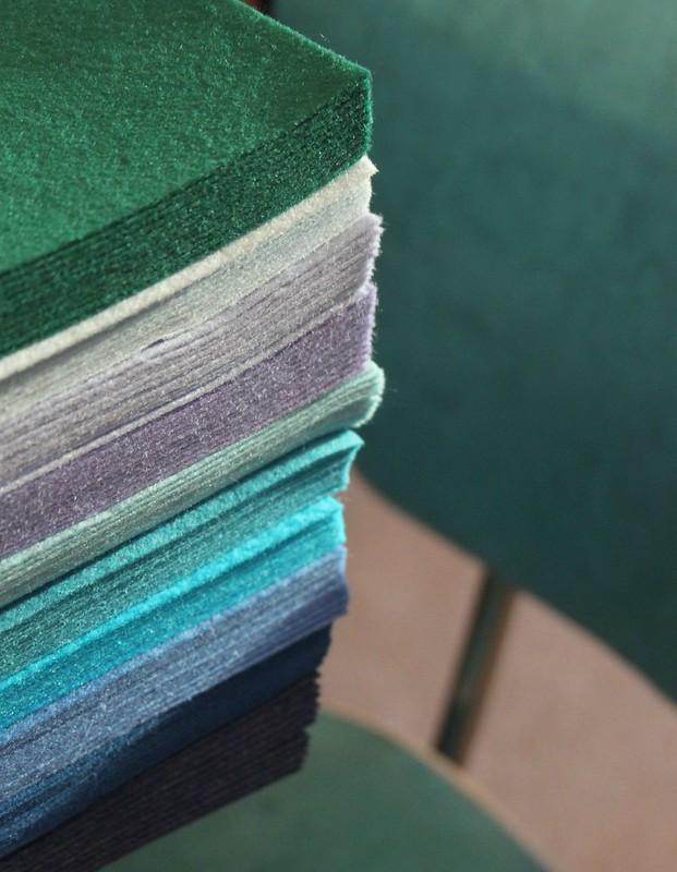 Green, Aqua, & Blue