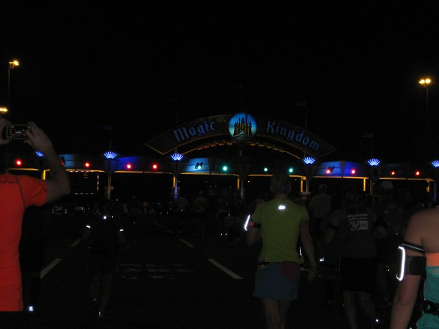 Entering the Magic Kingdom parking lot