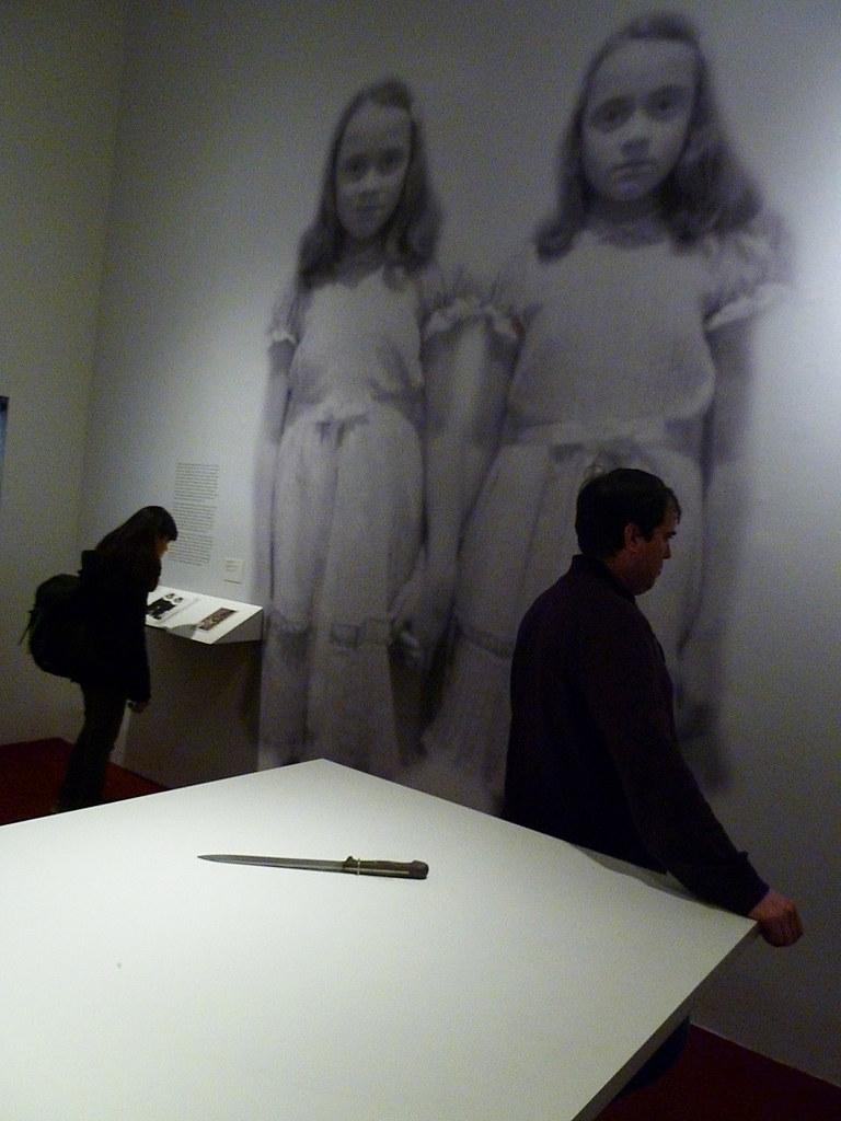 Kubrick Фрагмент выставки Кубрика в LACMA  LA USA 2013