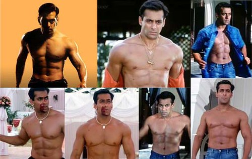 Salman Khan of 2002, in the movie Tumko Na Bhool Paayenge