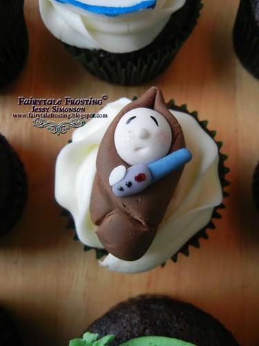 Star Wars Cupcake Baby