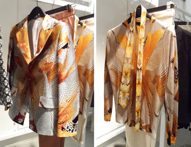 McQueen Dragonfly Print Jacket and Cardigan