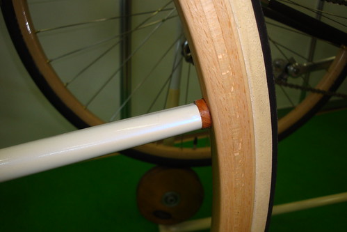 Amanda Sport wooden rim wheel