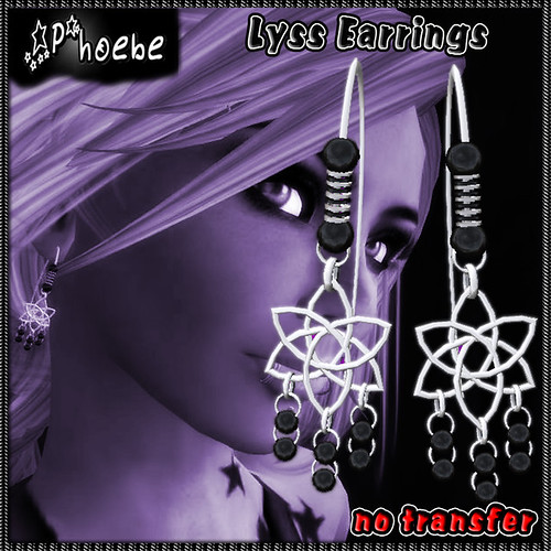 [$60L PROMO] *P* Lyss Earrings