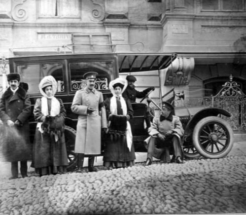 Фото 44          На фоне авто декабрь 1909