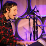 Matt Costa and band in concert for an audience of WFUV Members, at City Winery in New York City. January 22, 2013. Hosted by Darren DeVivo.