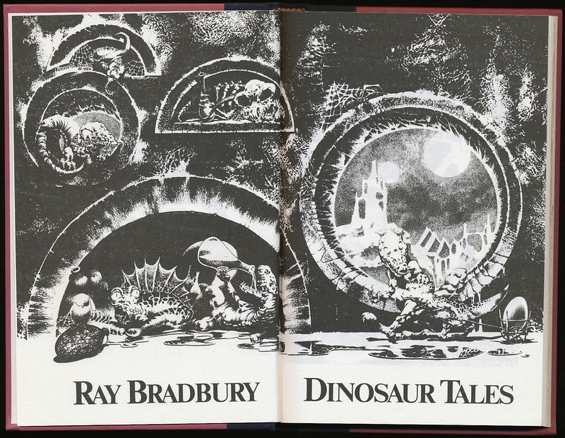 Kenneth Smith - Interior Illustration for Ray Bradbury's Dinosaur Tales