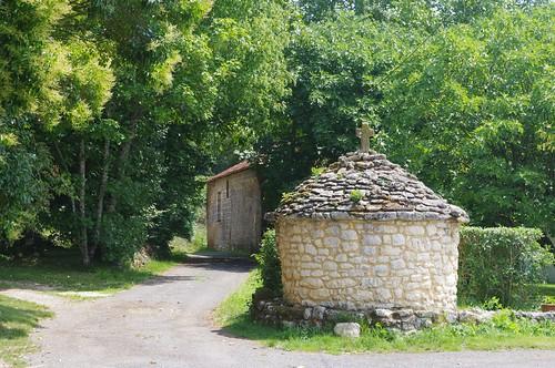Village de Clermont-de-Beauregard - Borie traditionnelle