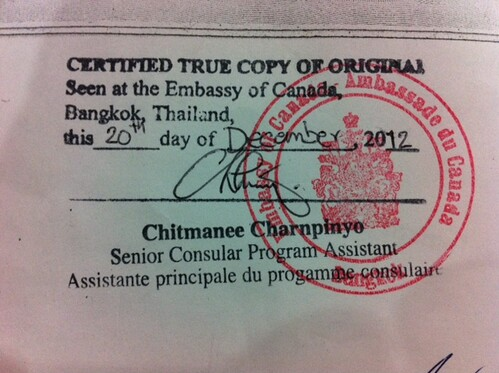 How to Legalize a Document - thailawonline