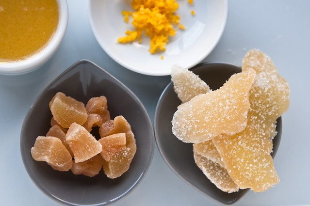 Uncrystallized and Crystallized ginger