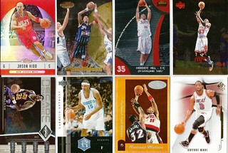 BASKETBALL SPORTS CARD LOT-6