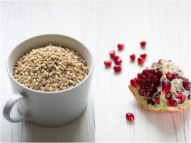 Barley and pomegranate