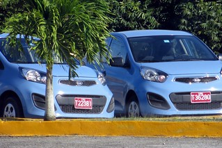 Kia cars, Cienfuegos