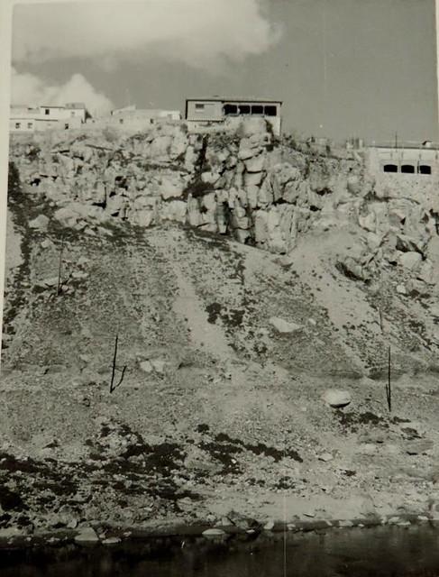Roca Tarpeya en 1956