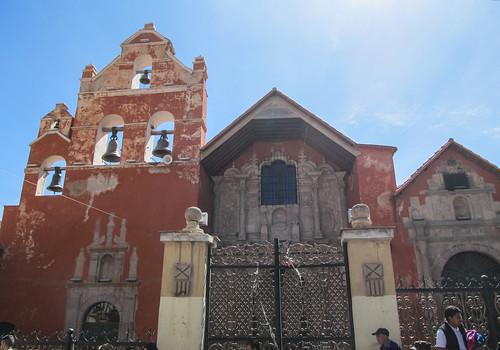 Potosi: la Iglesia de San Augustin