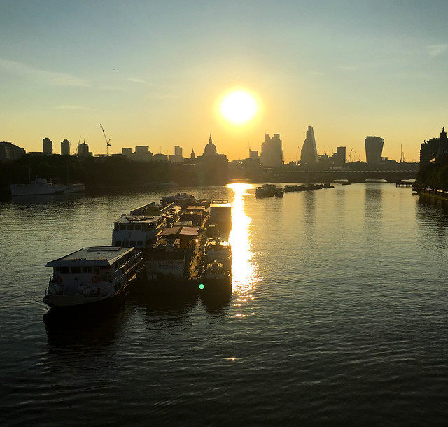 Father Thames in the Morning