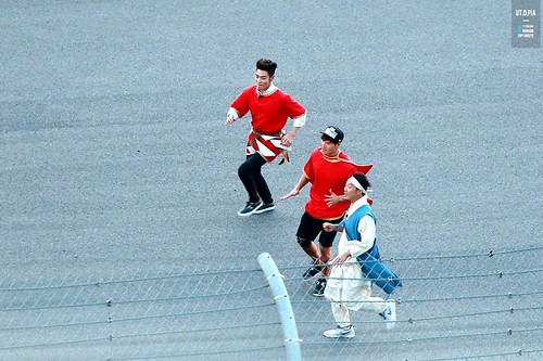 Big Bang - SBS Running Man - 25may2015 - TOP - Utopia - 01