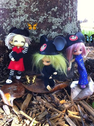 TiGGy, Fi & Lola LeaF SurF'nZ DisneY! by DollZWize