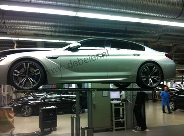 Prototipo BMW M6 Gran Coupe