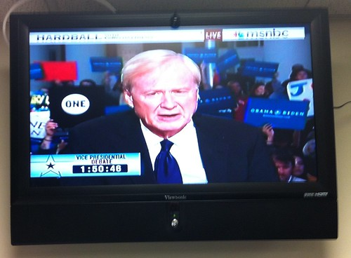 ONE Sign on Hardball