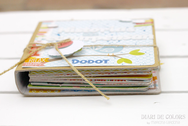 "Mini-album ""Historias que recompensan"" para Dodot"