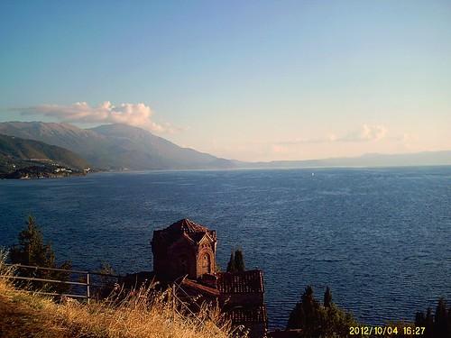 lake beautiful st john view macedonia ohrid od moj makedonija kaneo agol