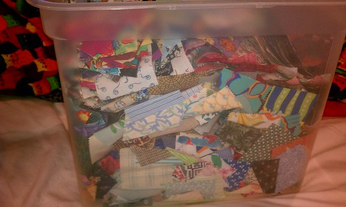 Scraps in my scrap bin! by aviva_hadas