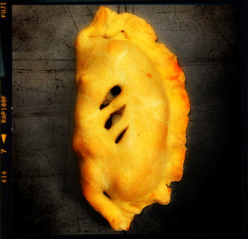 Fish, Chip & Mushy Pea Pasty