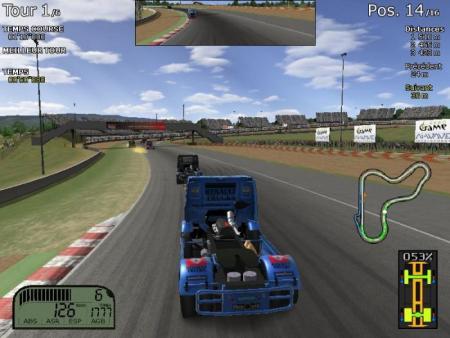 simulador de carreras de camiones