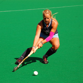 UNC Field Hockey Pink game
