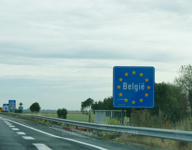 Belgium border - coming from France