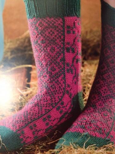 Green Isle Socks