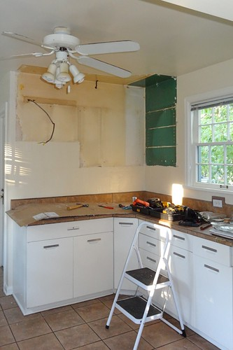 Kitchen after phase 1 demo