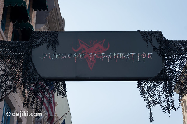 dungeon of damnation sign