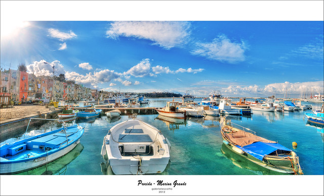 Light on the Marina Grande - Procida, Italy