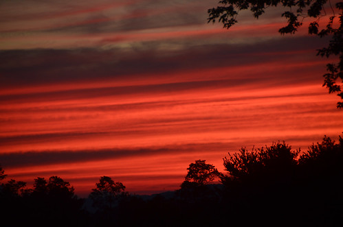 trees sunset red sky beautiful clouds geotagged virginia nikon pretty sundown dusk gorgeous va sillhouette vr blacksburg southwestvirginia 18200mm newrivervalley d7000