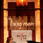 Thu, 06/09/2012 - 8:53pm - Iris DeMent brings songs from 'Sing the Delta' to NYC for a concert of WFUV Members. Hosted by John Platt. Photo by Laura Fedele