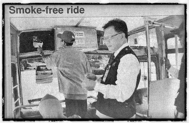 Smoke free ride
