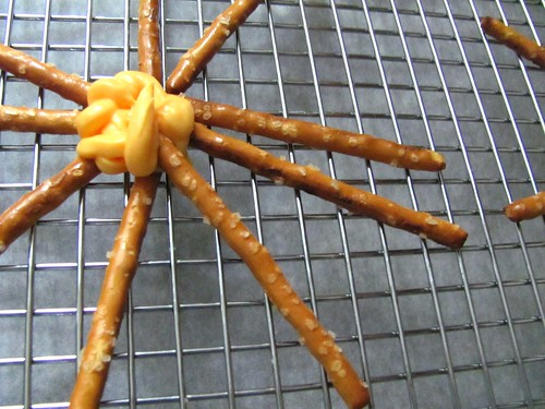 Halloween Spider Web Snacks